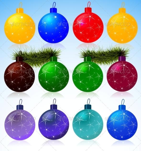 GraphicRiver Christmas Balls 5936002