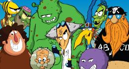 Cartoon characters