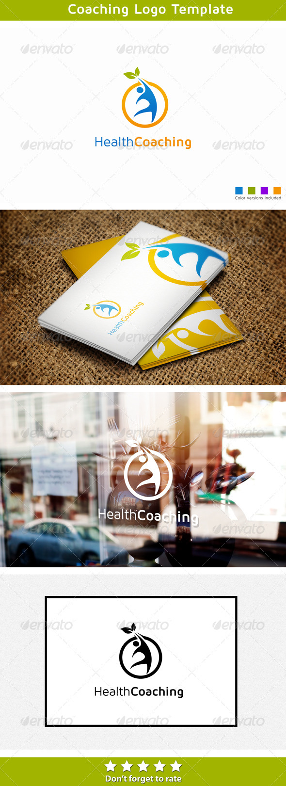 Physical Coaching - Humans Logo Templates