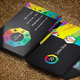 Social sites card / Social Wheel v1 - GraphicRiver Item for Sale