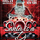 Santa is a DJ Flyer Template - GraphicRiver Item for Sale
