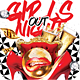 Girls Night Out Music Dance Party Flyer - GraphicRiver Item for Sale