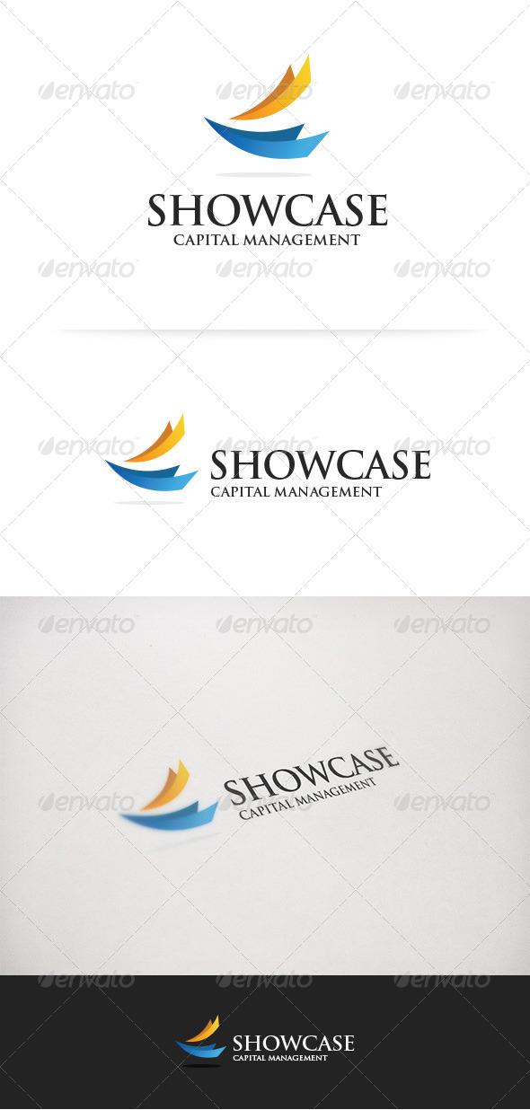 GraphicRiver Capital Management Logo 5938675