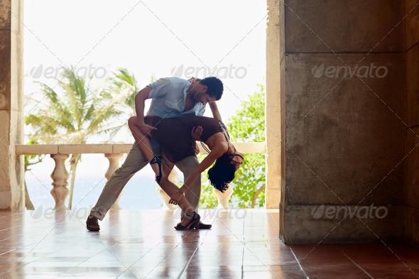 PhotoDune latin american man and woman dancing 620028