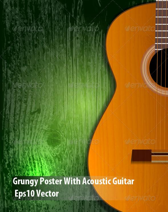 GraphicRiver Guitar Poster 5938893