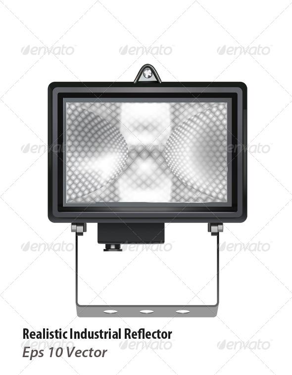 GraphicRiver Halogen Reflector 5938954