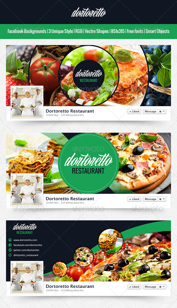 GraphicRiver Dortoretto Facebook Backgrounds Circle 5939143