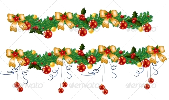 GraphicRiver Christmas Garland Vector 5939150