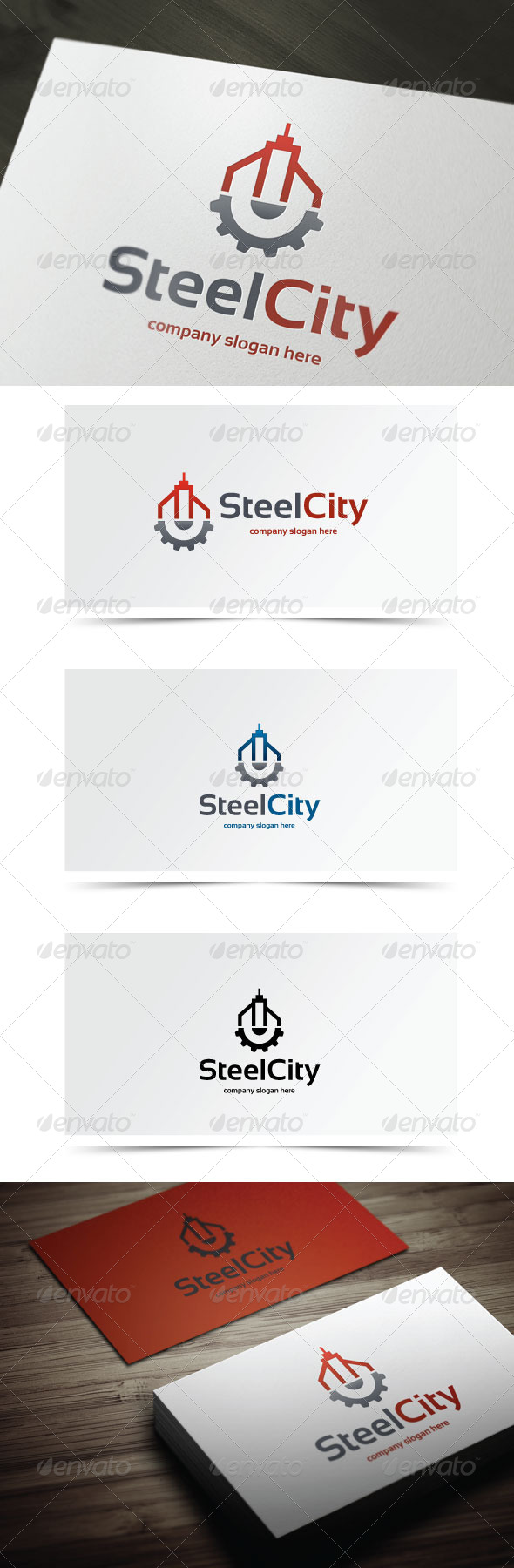 GraphicRiver Steel City 5939376