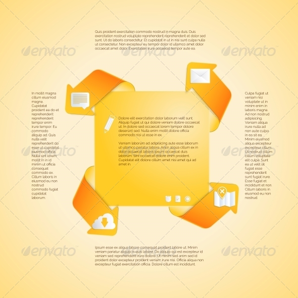 GraphicRiver Infographics Template Four Options Vector 5940140