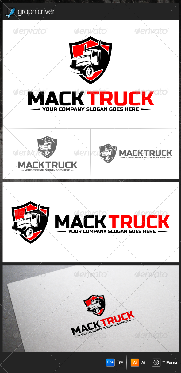 GraphicRiver Truck Logo Templates 5940175