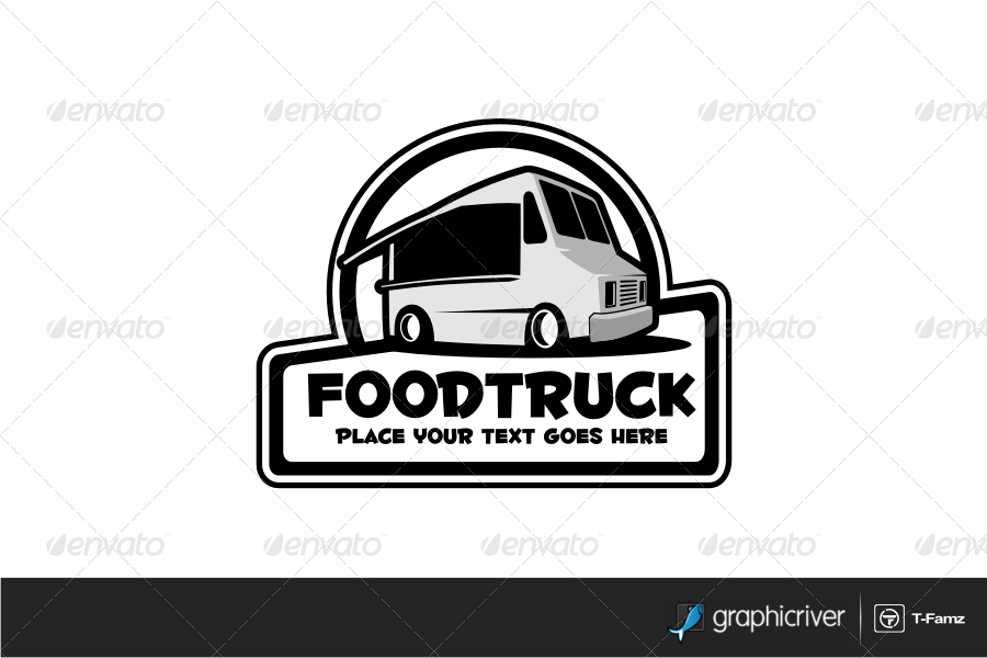 Food Truck V 2 Logo Templates By T Famz Graphicriver