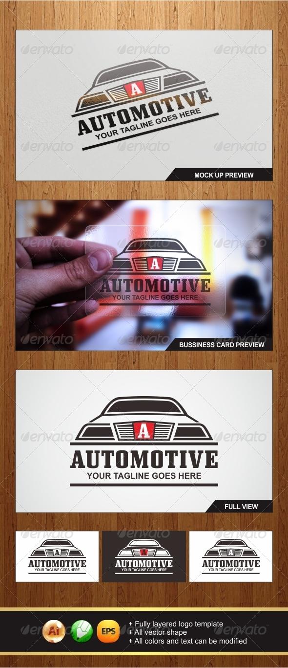 GraphicRiver Automotive Logo 5940404