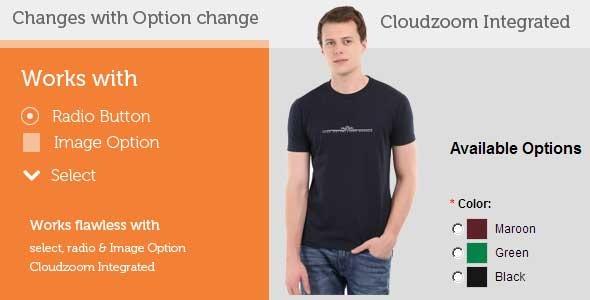 CodeCanyon Changes main image on option change vQmod 5940772