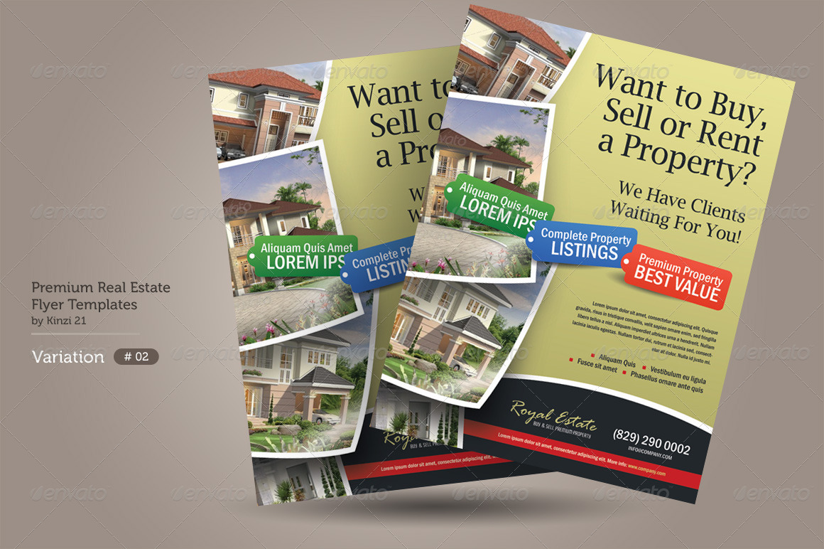 premium real estate flyers by kinzi graphicriver premium real estate flyers preview set 01 graphic river premium real estate flyers jpg