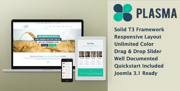 Plasma - Multi-Purpose Responsive Template