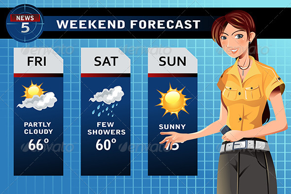GraphicRiver Weather Reporter 5942404