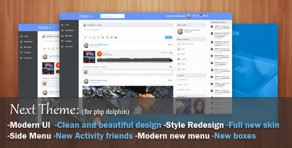 CodeCanyon Next Theme for phpDolphin 5922756