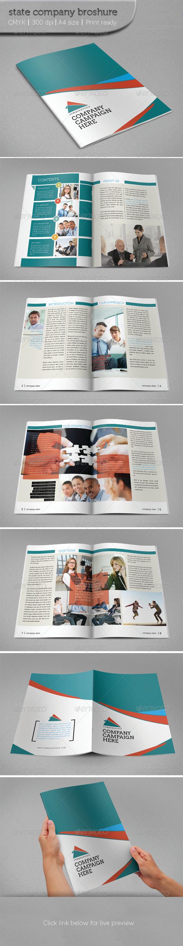 GraphicRiver State Company Brochure 5942921