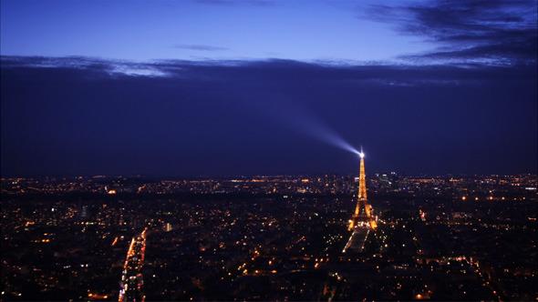 Paris Day to Night
