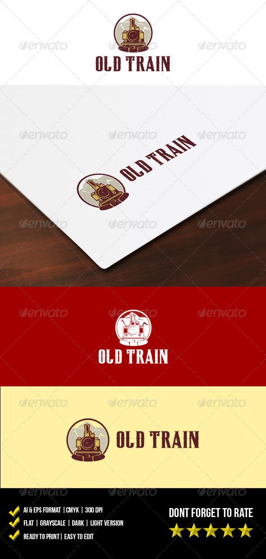 GraphicRiver Old Train Logo 5944141