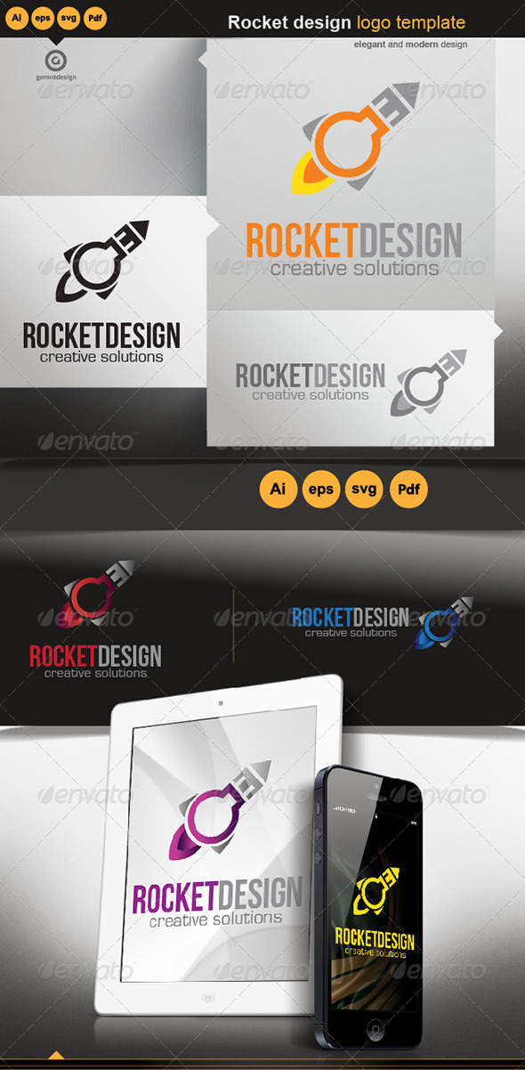 Rocket Design - Logo Templates