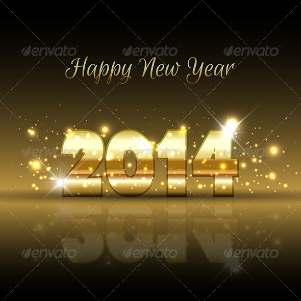 GraphicRiver Happy New Year Background 5945688