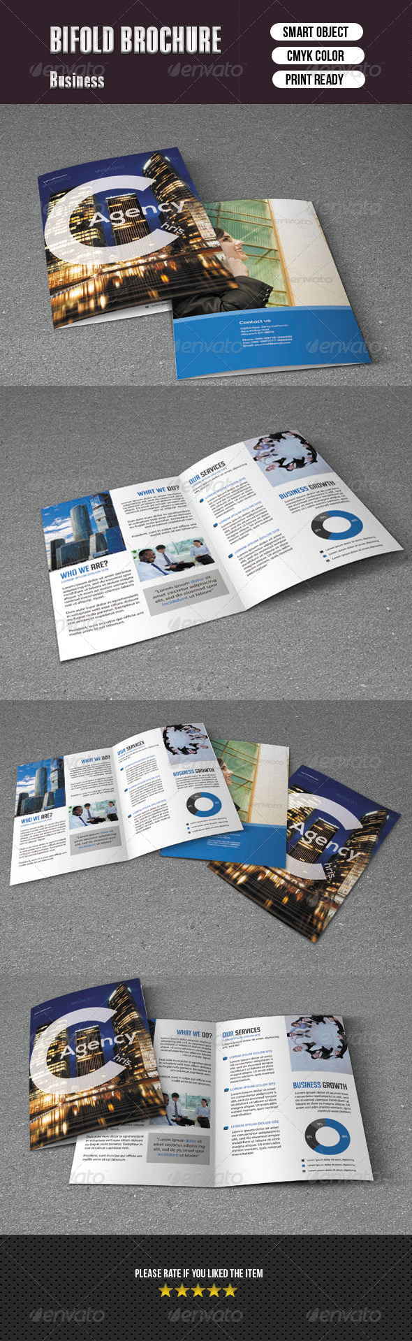 Bifold Brochure For Business - Corporate Brochures