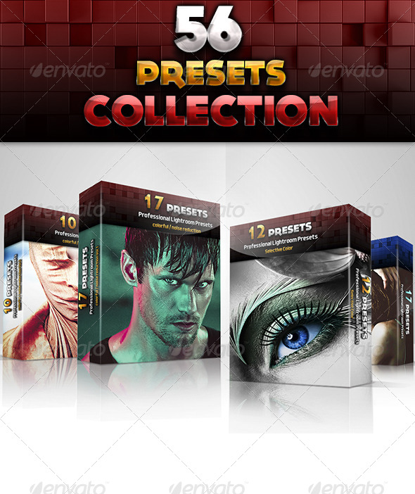GraphicRiver 56 Preset Collection 5946425