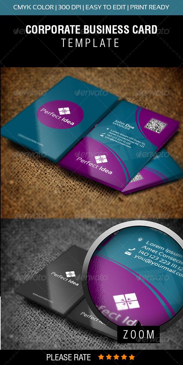 GraphicRiver Perfect Idea Business Card 5946539