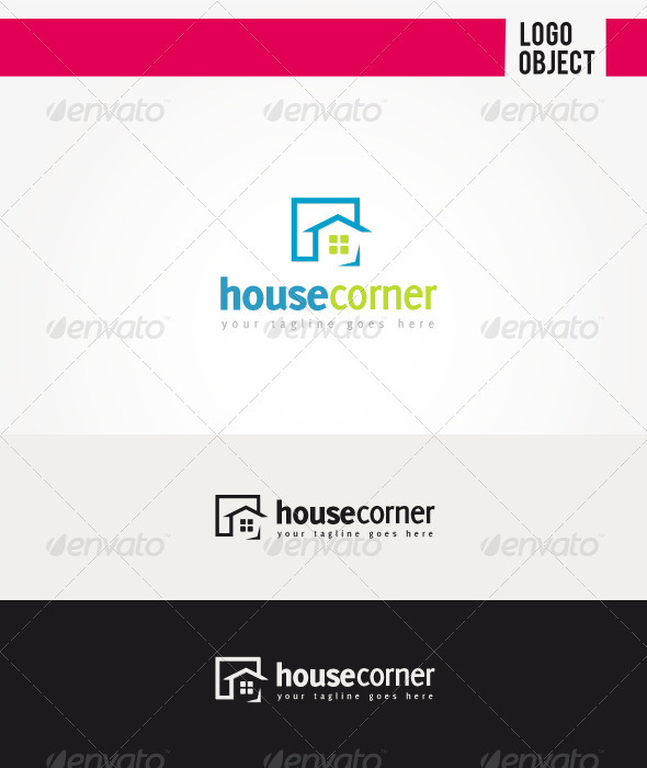 GraphicRiver House Corner Logo 5936717