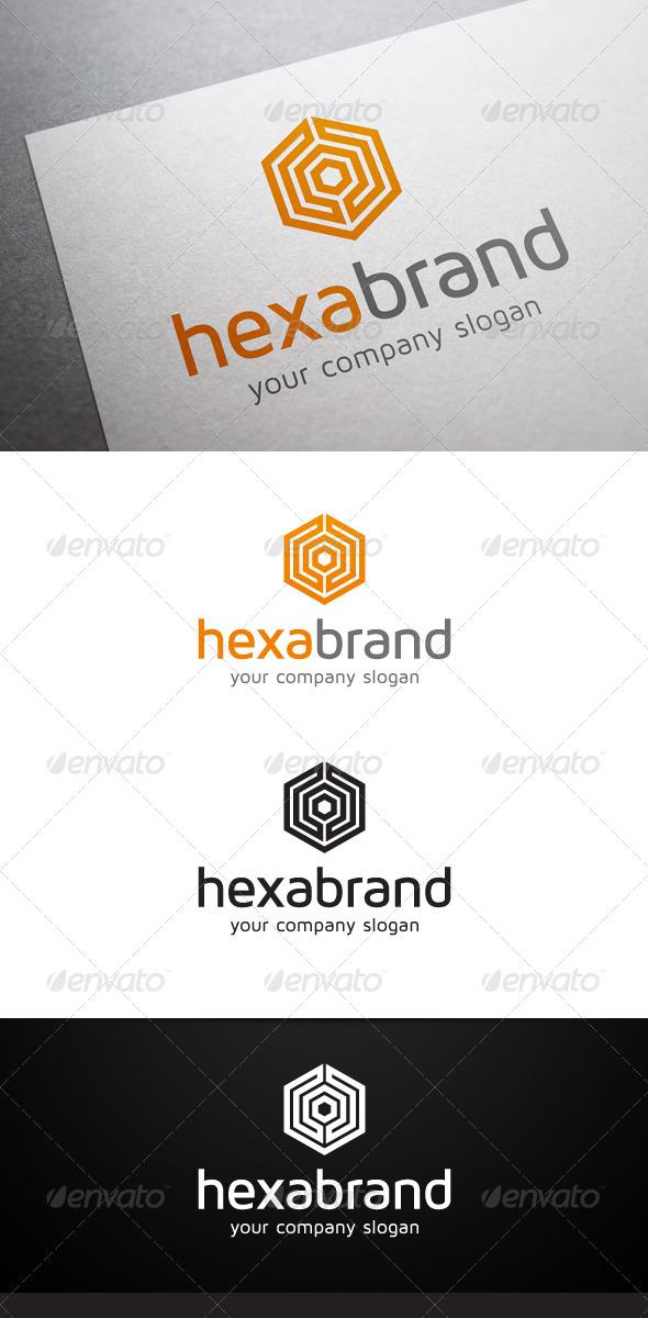 GraphicRiver Hexa Brand Logo 5946607