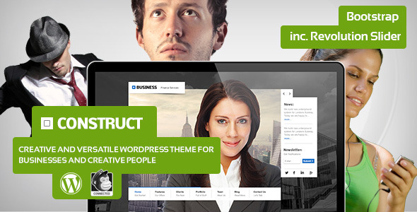 Construct - Creative Business Theme for Wordpress