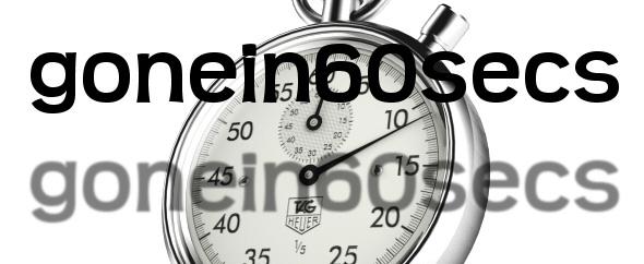 gonein60secs