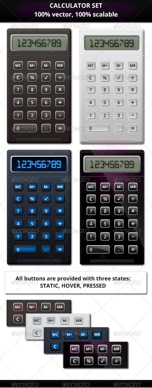 GraphicRiver Calculator Set 5947949