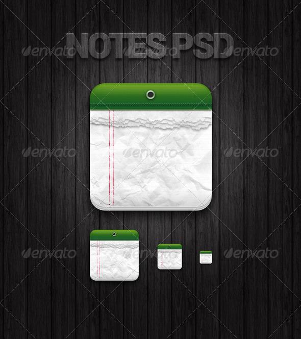 A Notes App Icon
