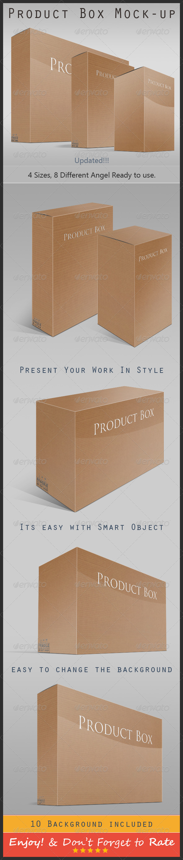 Product Box Mock-up