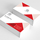 Cool Red Business Card - GraphicRiver Item for Sale