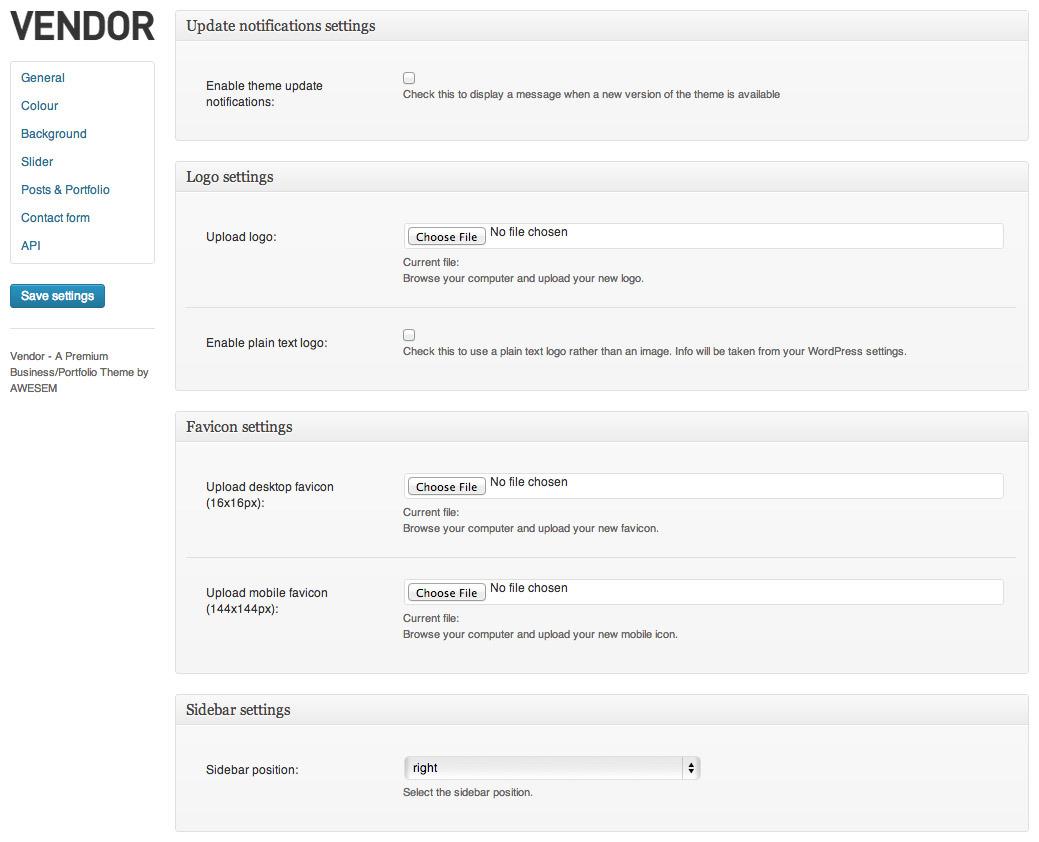 Vendor – Premium WordPress Portfolio Theme