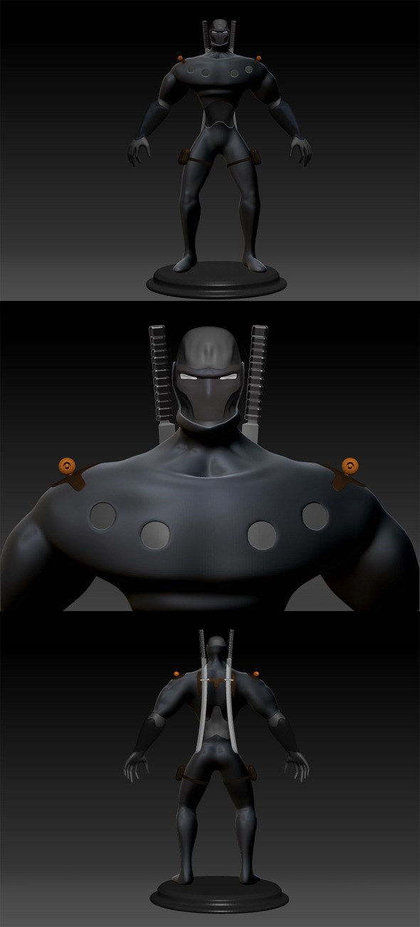 3DOcean Super Hero 620937