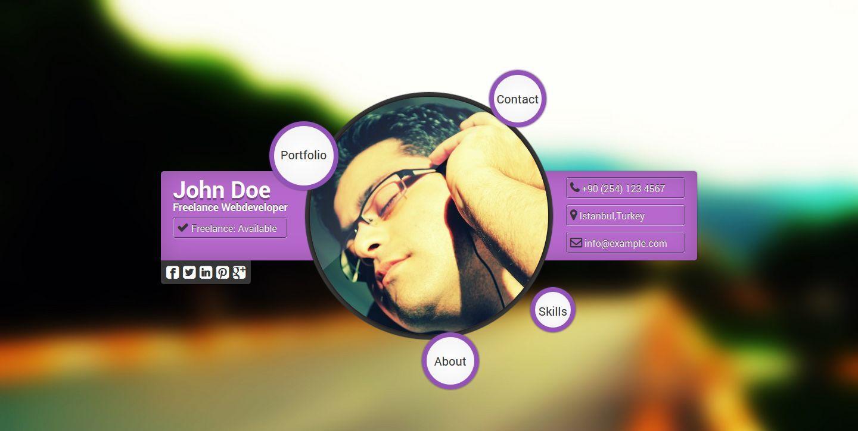 Liquido - Responsive Personal Website