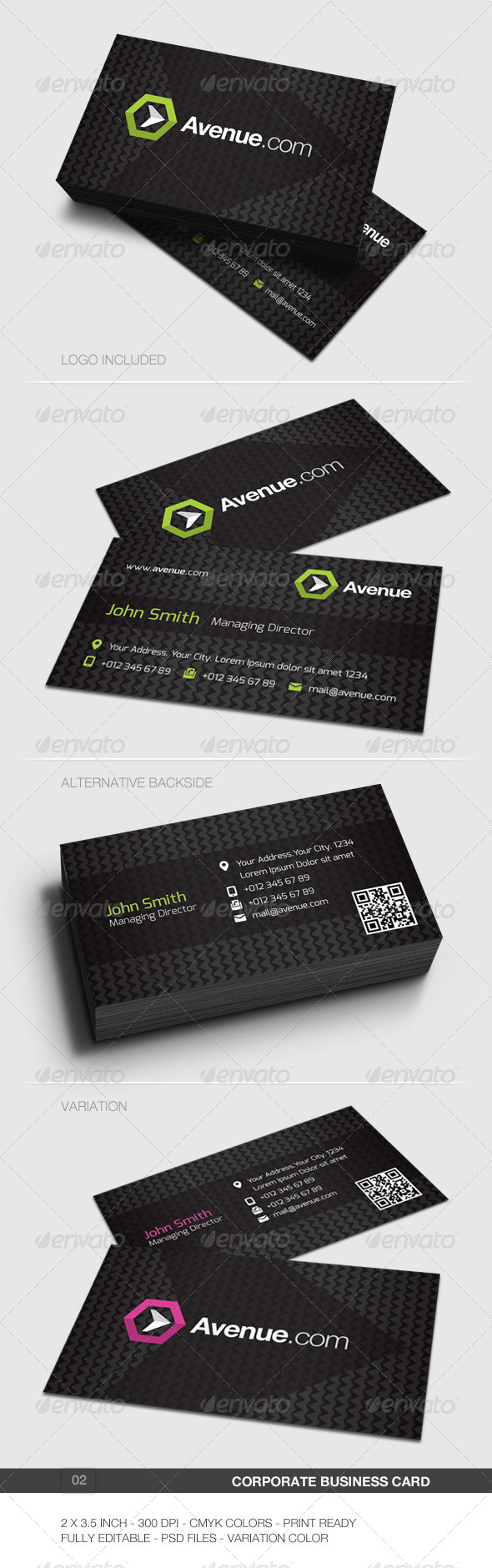 GraphicRiver Corporate Business Card 02 5897062