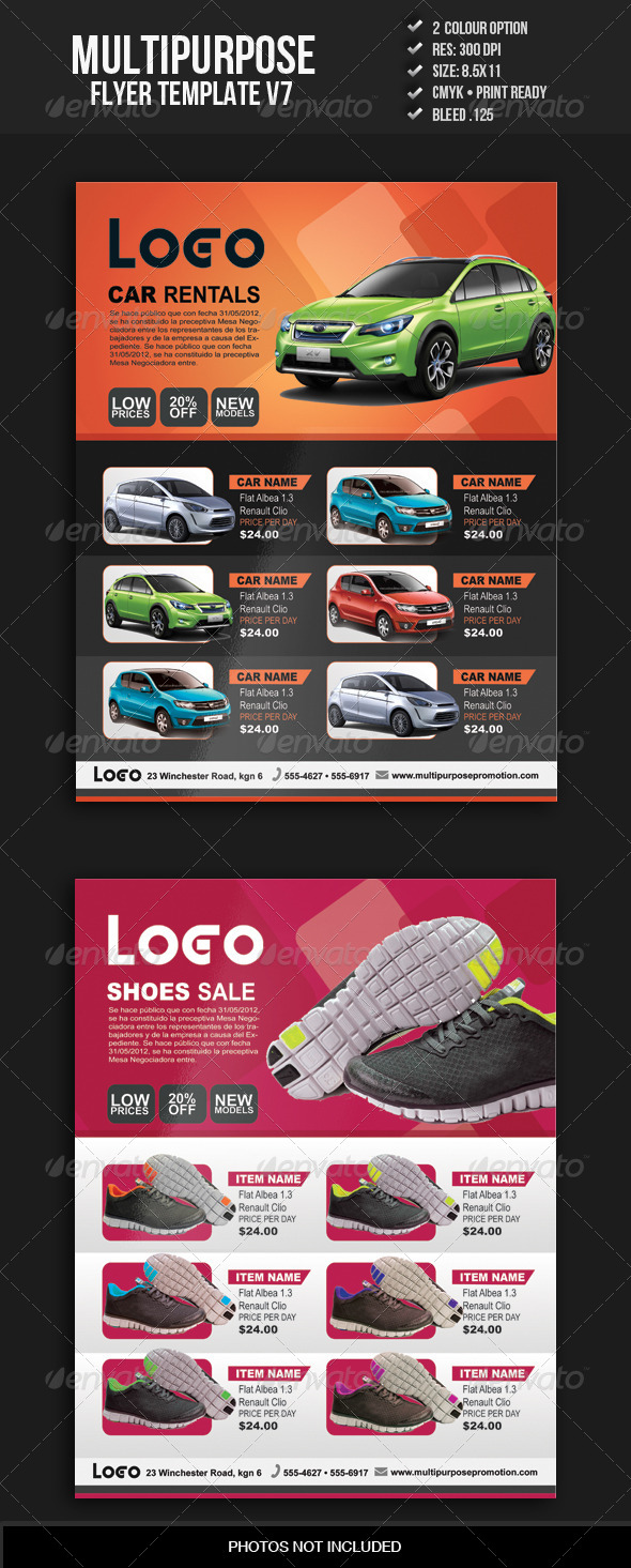 Multipurpose Flyer Template V7 - Commerce Flyers