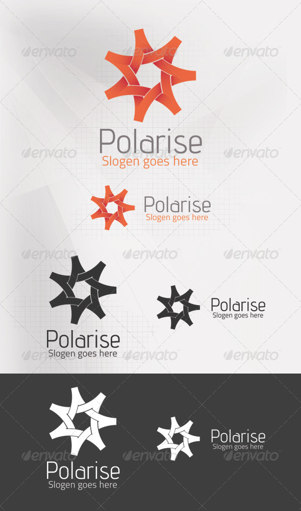 Polarise Logo template