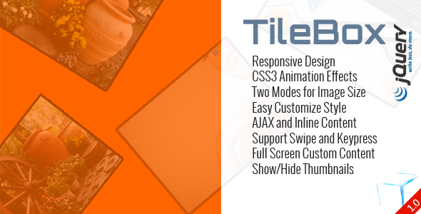 CodeCanyon TileBox jQuery Modern Responsive LightBox 5951621