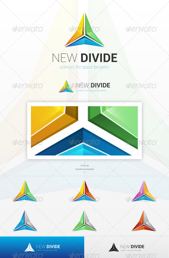 New Divide Logo - Symbols Logo Templates