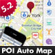 Point Of Interest (POI) Auto Map