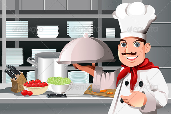 GraphicRiver Restaurant Chef 5952289