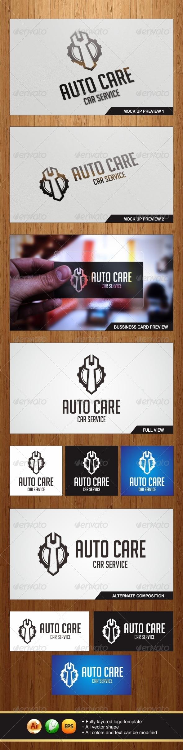 GraphicRiver Auto Care Logo 5953092
