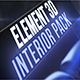 Interior Pack for Element 3d